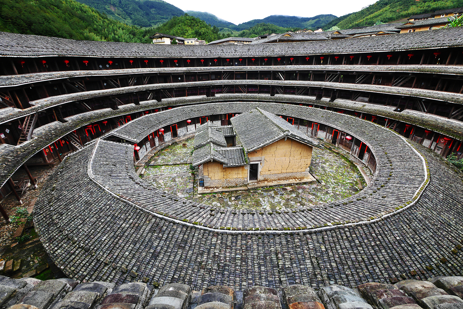 Discovering amazing architectural treasure in China.