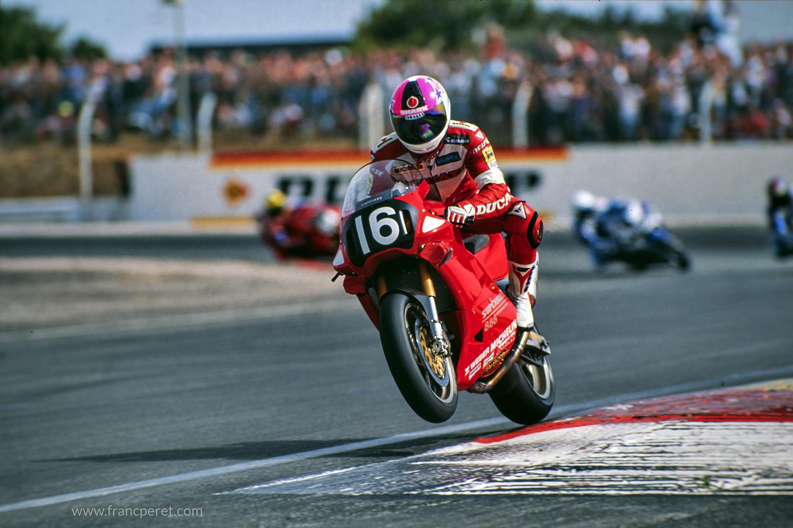 Speed racer taking of