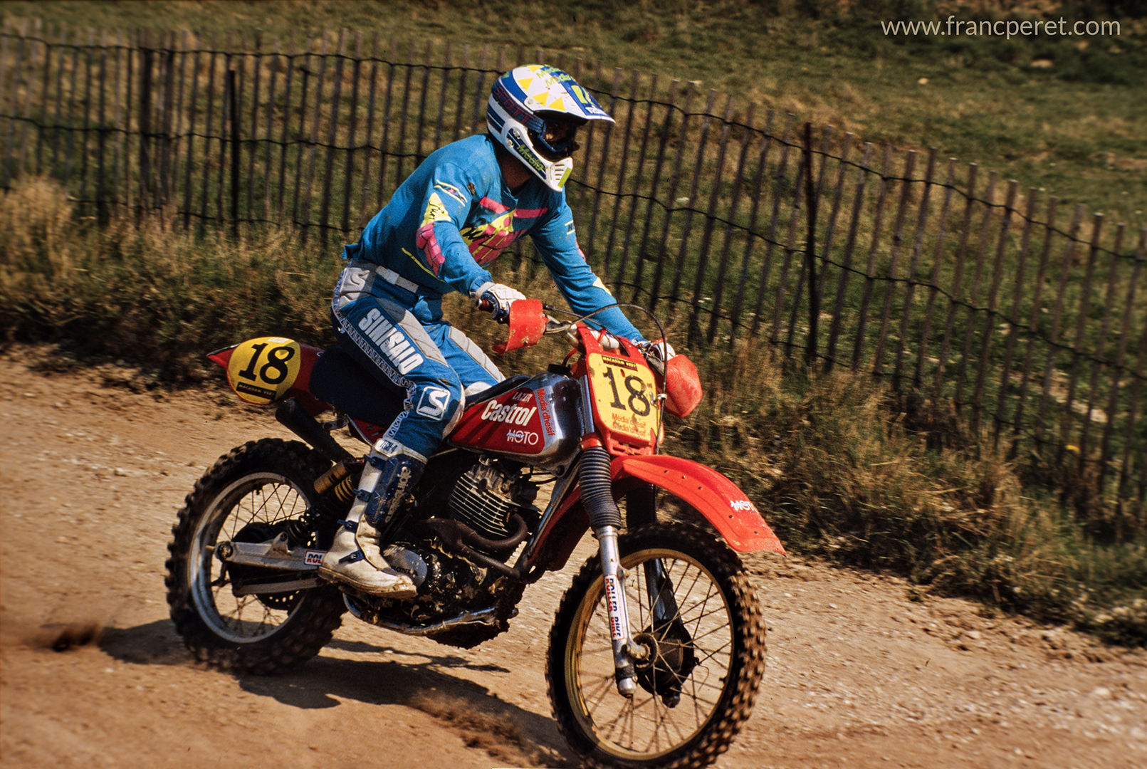 To keep fit and to experiment new sensation, I owned a bike to race on Motocross tracks