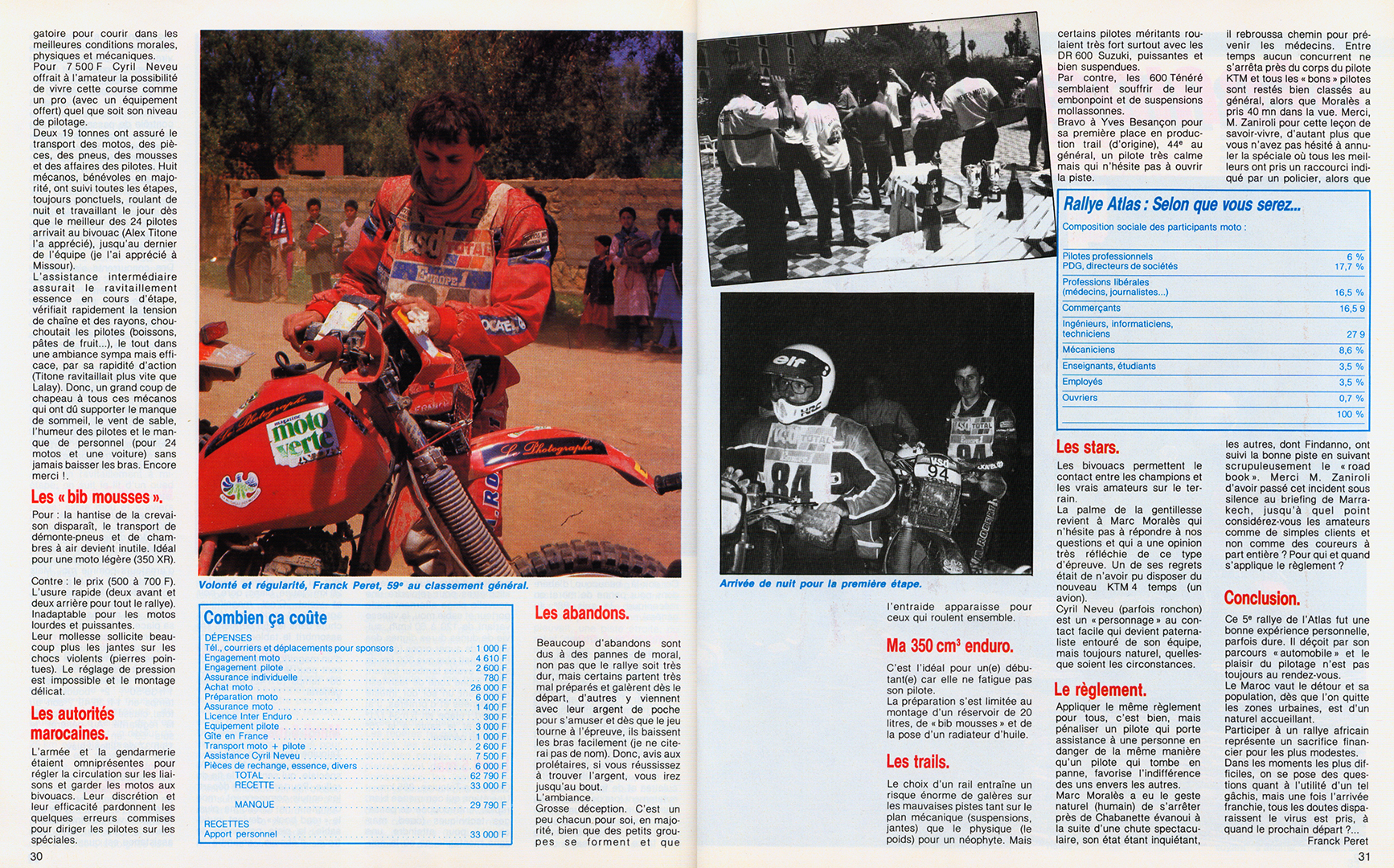 My very first report as a journalist opens up a new career opportunity. Thanks to Yannick from Moto Magazine