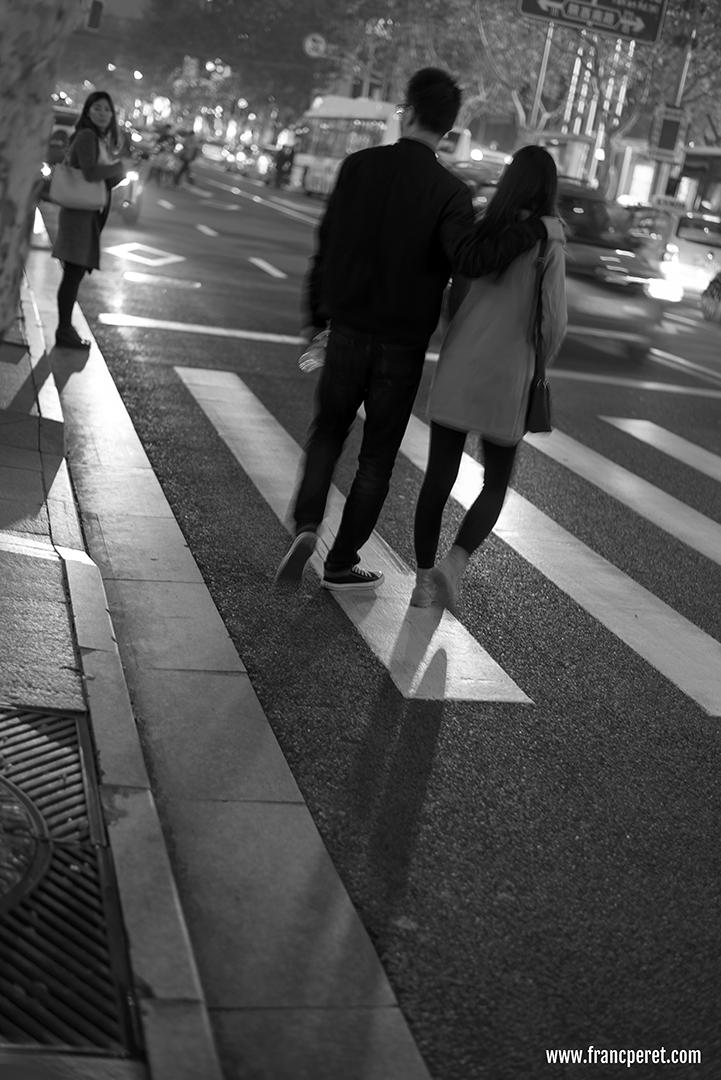 Zebra and couple. Nikon D750 ISO100 1/10s 50mm f/1.8 @ f/1.8