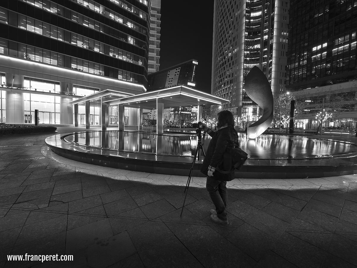 I am having special demand such as Night shooting with tripod. Here with Renee.