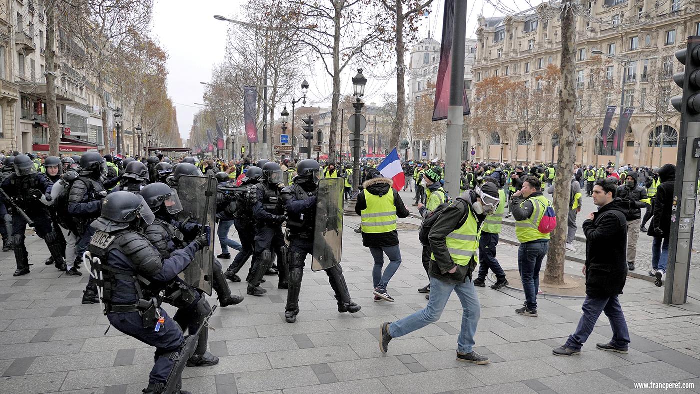 Police attacks