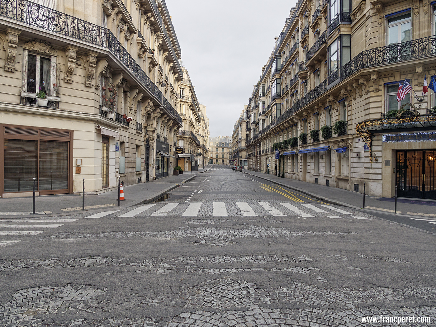 Empty Paris for several Saturdays and more to come. Anger is still vivid.